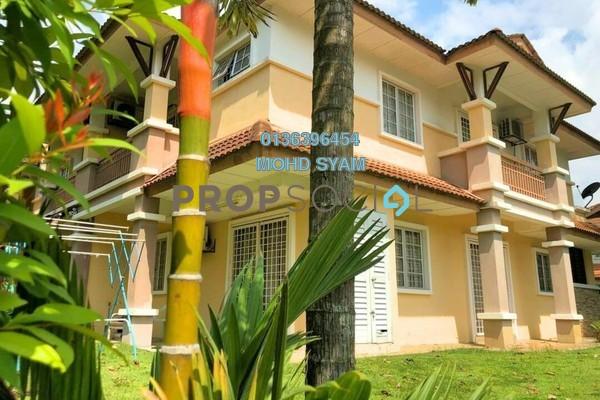 For Sale Terrace at Precinct 11, Putrajaya Freehold Semi Furnished 4R/3B 950k