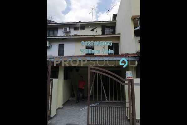 For Rent Terrace at Taman Sri Sinar, Segambut Freehold Unfurnished 3R/3B 1.2k