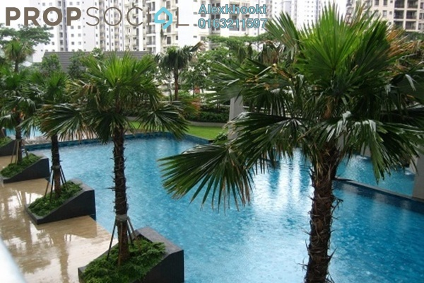 For Rent Condominium at Royal Regent, Dutamas Freehold Semi Furnished 3R/2B 2.3k