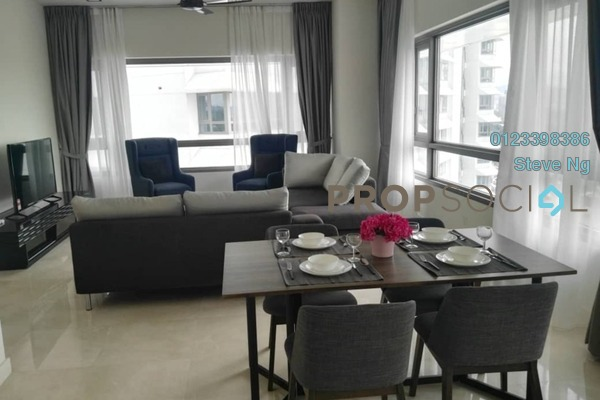For Rent Condominium at The Sentral Residences, KL Sentral Freehold Fully Furnished 1R/0B 4k