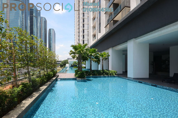 For Rent Serviced Residence at South View, Bangsar South Freehold Fully Furnished 2R/1B 2.8k