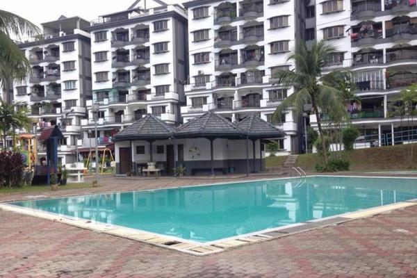 For Sale Condominium at Sri Kinabalu, Wangsa Maju Freehold Unfurnished 4R/2B 405k