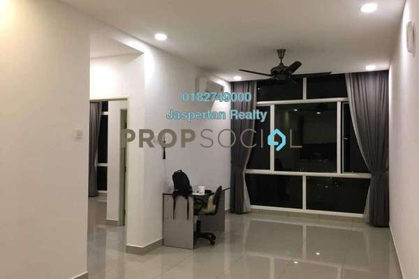 For Rent Condominium at 3Elements, Bandar Putra Permai Freehold Semi Furnished 2R/2B 1.2k