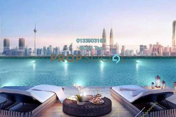 For Sale Condominium at Chan Sow Lin, Kuala Lumpur Freehold Semi Furnished 2R/1B 475k