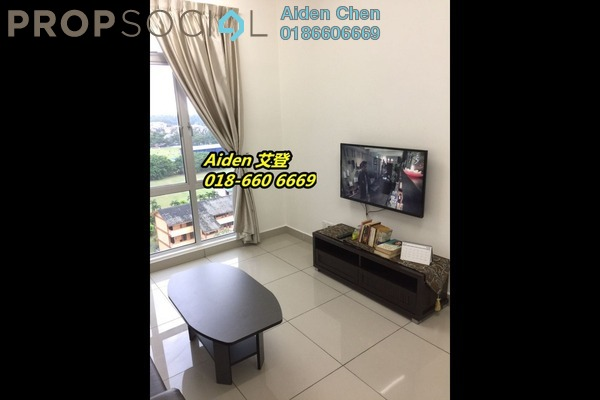 For Rent Condominium at D'Ambience, Johor Bahru Freehold Fully Furnished 1R/1B 1.1k