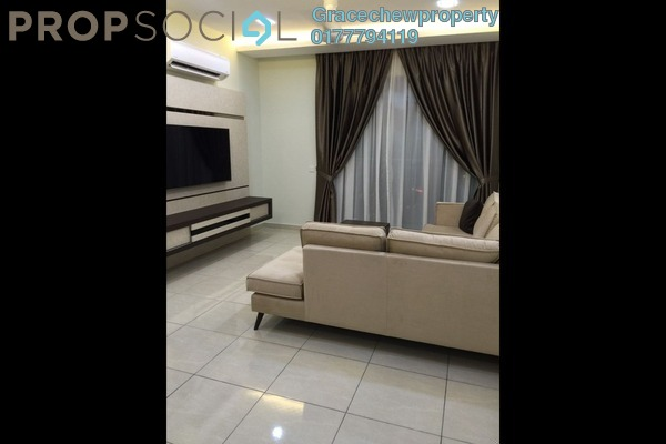 For Rent Serviced Residence at Sky Breeze, Bukit Indah Freehold Fully Furnished 3R/2B 3k