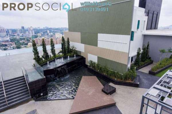 For Sale Condominium at The Reach @ Titiwangsa, Setapak Freehold Fully Furnished 3R/3B 850k