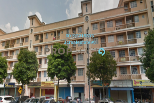 For Sale Apartment at Hata Square, Pandan Indah Freehold Semi Furnished 3R/2B 280k