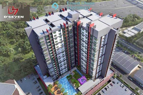 For Sale Condominium at D'Seven, Bandar Sunway Leasehold Unfurnished 3R/2B 471k
