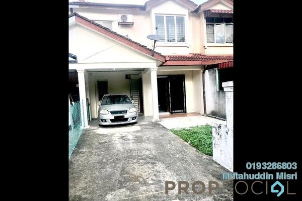For Sale Terrace at Bandar Saujana Utama, Sungai Buloh Freehold Semi Furnished 4R/3B 320k