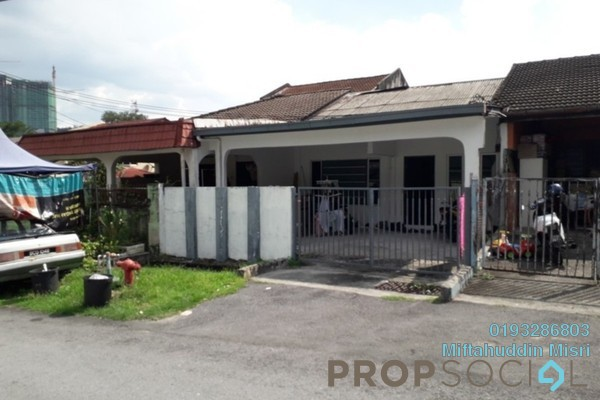 For Sale Terrace at Taman Keramat, Setiawangsa Freehold Semi Furnished 3R/2B 560k