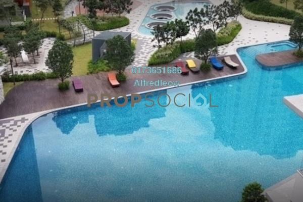 For Rent Condominium at Midfields 2, Sungai Besi Freehold Semi Furnished 3R/2B 2.3k