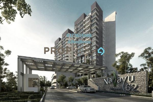 For Rent Condominium at Nadayu62, Melawati Freehold Semi Furnished 3R/2B 1.7k