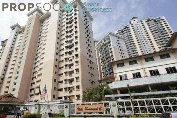 For Sale Condominium at Vista Komanwel, Bukit Jalil Freehold Unfurnished 0R/0B 450k