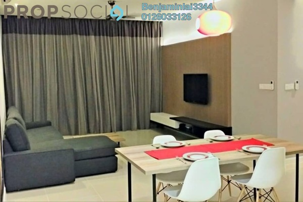 For Rent Condominium at Azelia Residence, Bandar Sri Damansara Freehold Fully Furnished 3R/4B 4k