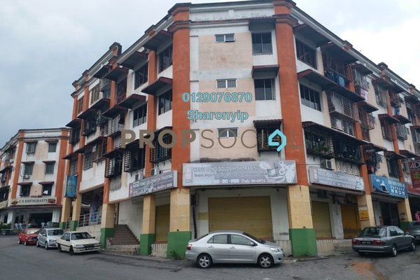 For Sale Shop at Taman Megah, Cheras South Freehold Unfurnished 3R/2B 218k