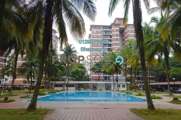 For Sale Condominium at Garden Park, Bandar Sungai Long Freehold Semi Furnished 3R/2B 278k