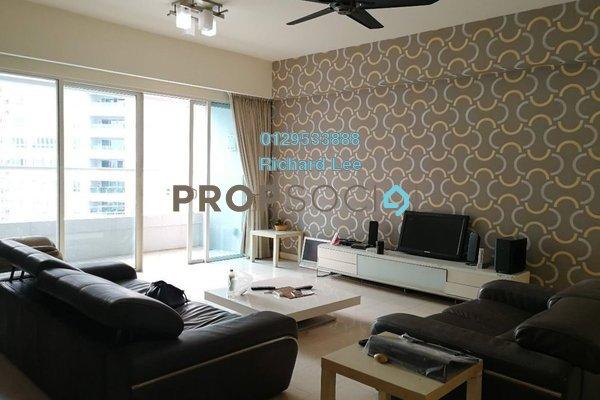 For Rent Condominium at Tiffani Kiara, Mont Kiara Freehold Fully Furnished 3R/4B 5.5k