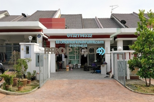 For Sale Terrace at Alam Nusantara, Setia Alam Freehold Unfurnished 3R/2B 490k