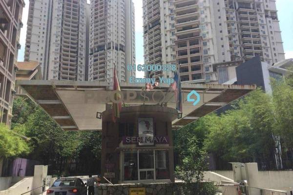 For Sale Condominium at Seri Maya, Setiawangsa Freehold Semi Furnished 3R/2B 680k