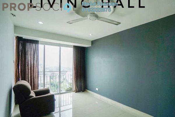 For Sale Apartment at Menara U, Shah Alam Freehold Semi Furnished 2R/1B 315k