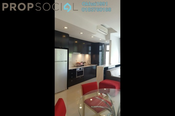 For Rent Condominium at VERVE Suites, Mont Kiara Freehold Fully Furnished 2R/1B 2.9k