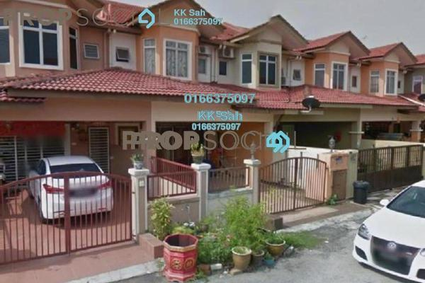For Sale Terrace at Bandar Putera Klang, Klang Leasehold Semi Furnished 4R/3B 388k