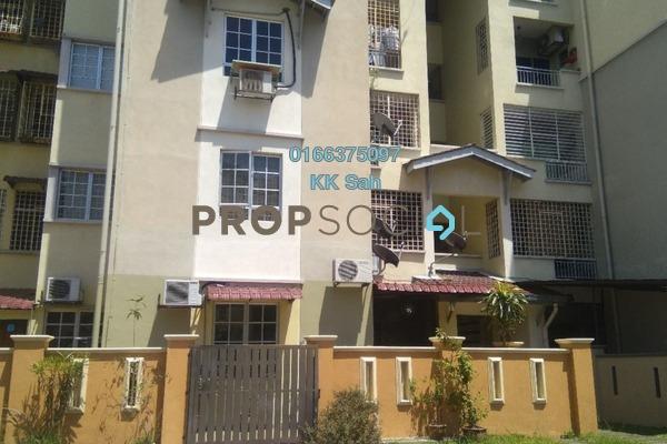 For Sale Apartment at Kasuarina Apartment, Klang Freehold Semi Furnished 3R/2B 348k