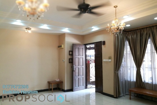 For Sale Terrace at Aroma Tropika, Shah Alam Freehold Semi Furnished 4R/3B 750k
