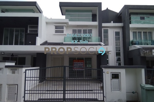 For Sale Superlink at Taman Sempurna Jaya, Semenyih Freehold Semi Furnished 5R/3B 500k
