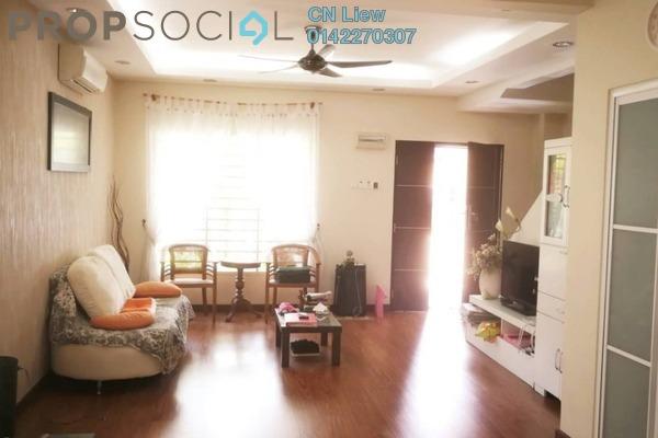 For Sale Terrace at Taman Pinggiran Putra, Bandar Putra Permai Freehold Fully Furnished 4R/3B 670k