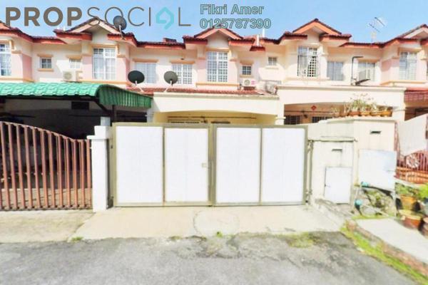 For Sale Terrace at Taman Seri Mewah, Kajang Freehold Semi Furnished 4R/3B 450k