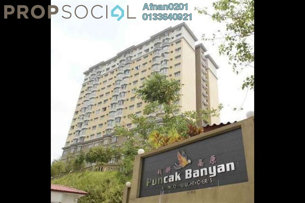 For Rent Apartment at Puncak Banyan, Cheras Freehold Fully Furnished 3R/2B 1.3k