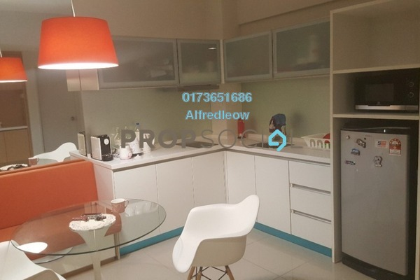 For Sale Condominium at Dex @ Kiara East, Jalan Ipoh Freehold Fully Furnished 2R/1B 415k