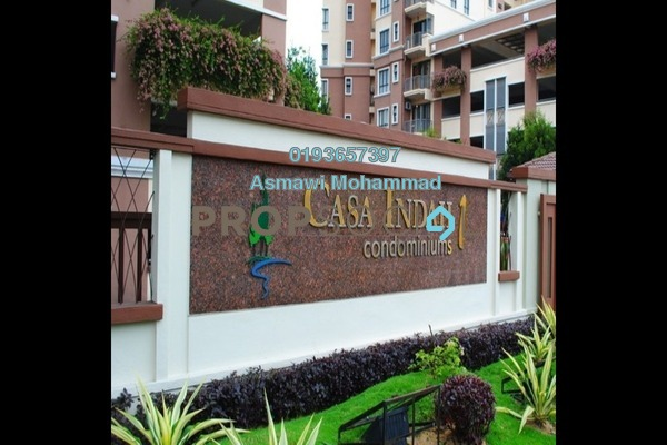 For Sale Condominium at Casa Indah 1, Tropicana Leasehold Semi Furnished 3R/3B 650k