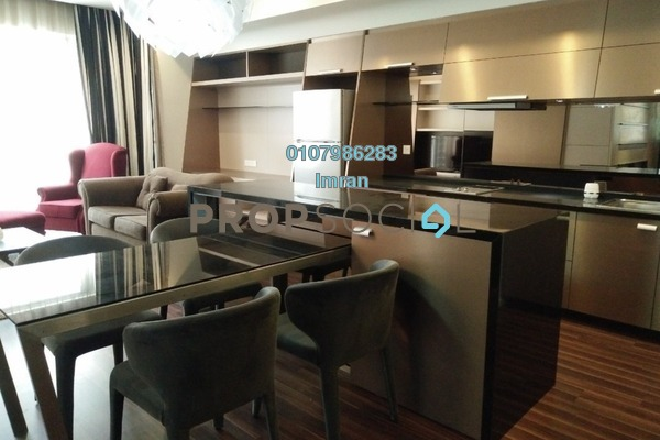 For Rent Serviced Residence at VERVE Suites, Mont Kiara Freehold Fully Furnished 2R/2B 3.8k