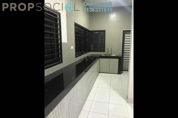 For Sale Terrace at Avani, Bandar Bukit Raja Freehold Semi Furnished 4R/3B 830k