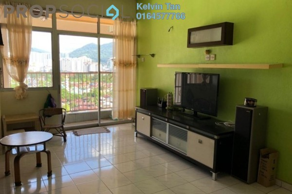 For Sale Apartment at Acres Ville, Sungai Ara Freehold Fully Furnished 3R/2B 320k