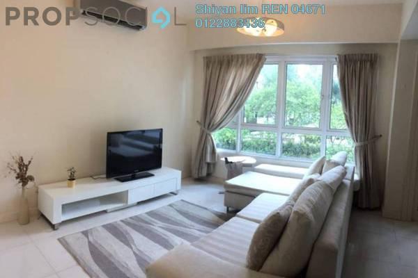 For Rent Condominium at Tiffani Kiara, Mont Kiara Freehold Fully Furnished 2R/2B 3k