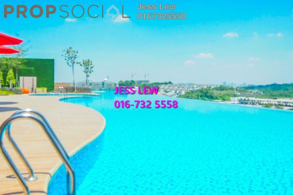 For Rent Condominium at Sutera Pines, Bandar Sungai Long Freehold Semi Furnished 3R/2B 1.3k