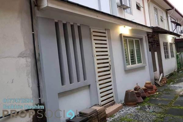 For Sale Terrace at Bukit Bandaraya, Shah Alam Freehold Semi Furnished 4R/3B 620k