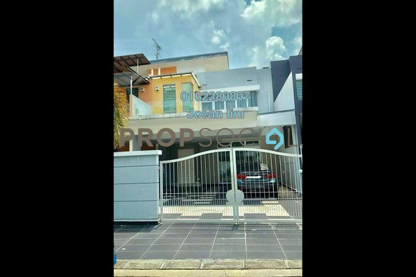 For Sale Terrace at Taman Sutera Utama, Skudai Freehold Semi Furnished 4R/4B 930k