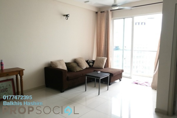 For Rent Apartment at TTDI Adina, Shah Alam Freehold Fully Furnished 2R/2B 1.6k