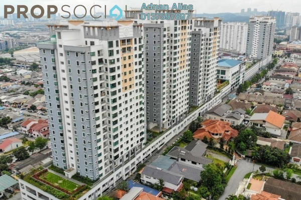 For Sale Condominium at Park 51 Residency, Petaling Jaya Freehold Semi Furnished 4R/2B 630k