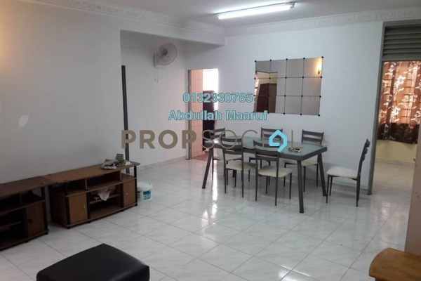 For Sale Apartment at Manor Apartment, Cheras Freehold Semi Furnished 3R/2B 330k