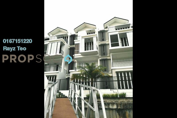 For Rent Semi-Detached at Emerald Bay, Puteri Harbour Freehold Fully Furnished 5R/6B 16k