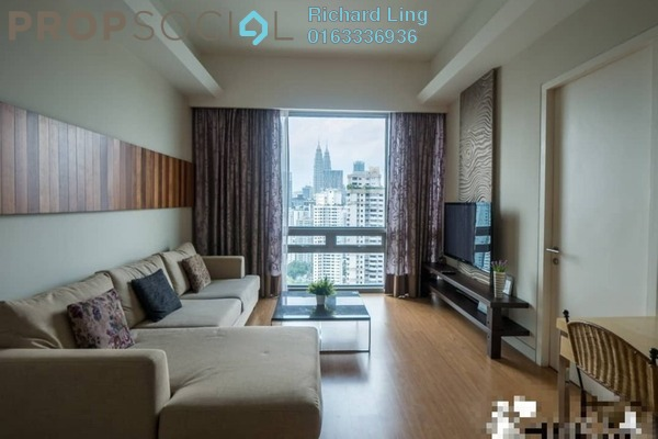 For Rent Serviced Residence at Swiss Garden Residences, Pudu Freehold Fully Furnished 2R/2B 4.6k