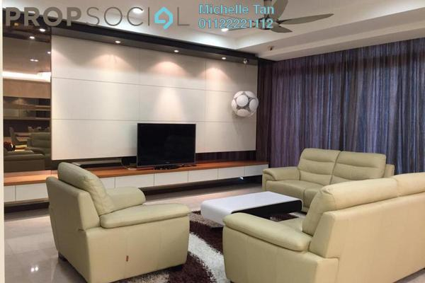 For Rent Condominium at Hampshire Residences, KLCC Freehold Fully Furnished 4R/5B 12k