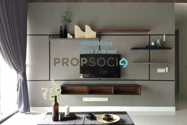 For Rent Condominium at Reflection Residences, Mutiara Damansara Freehold Fully Furnished 3R/2B 4.8k