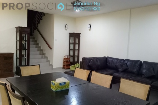 For Rent Townhouse at Taman Tasik Prima, Puchong Freehold Fully Furnished 4R/4B 2.2k